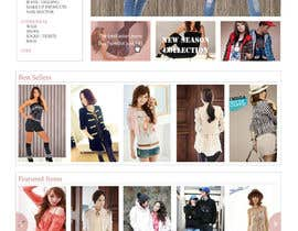#45 untuk Website Design for VIVI Clothes oleh dragnoir