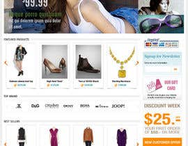 #15 для Website Design for VIVI Clothes от AnandLab