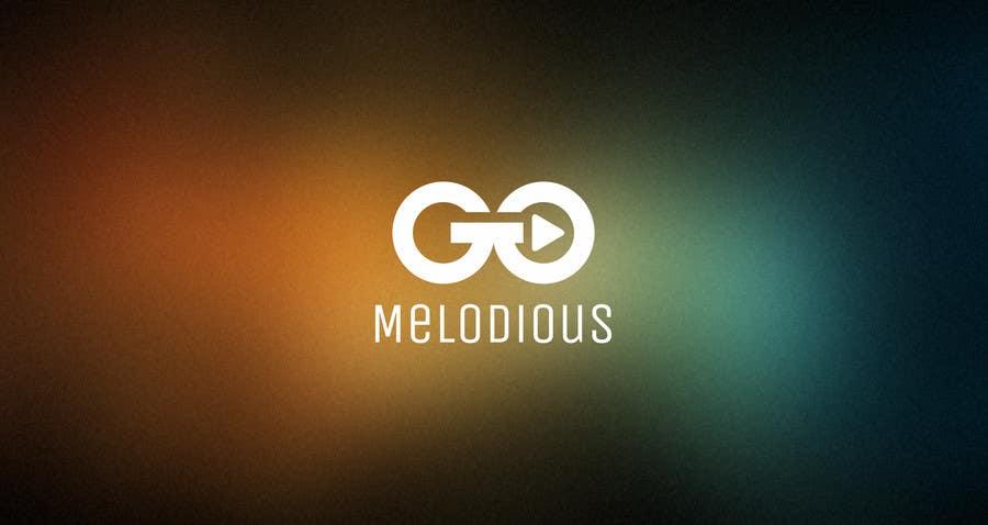 Kilpailutyö #37 kilpailussa Design a Logo for GoMelodious