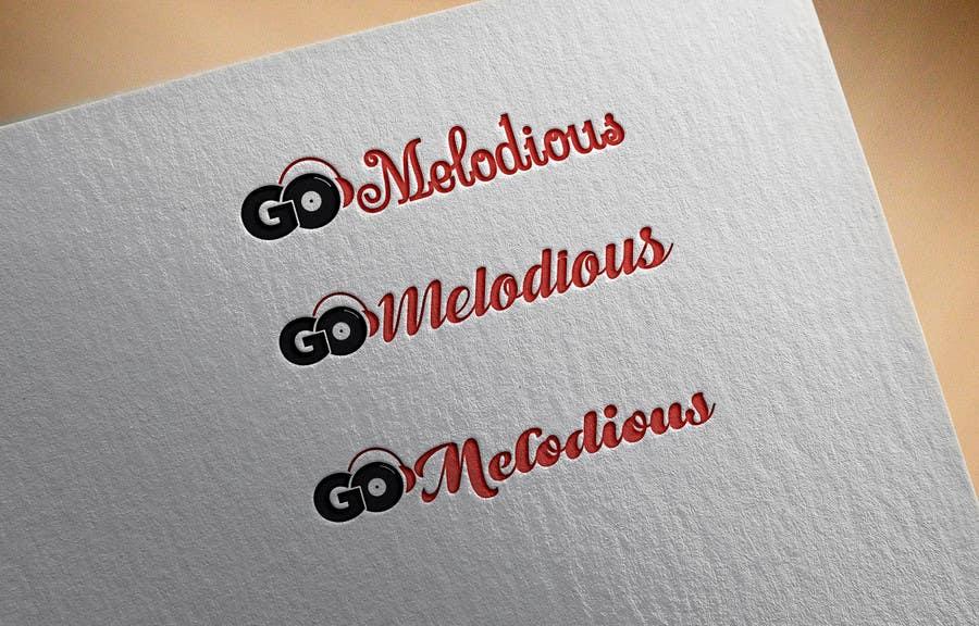 Kilpailutyö #11 kilpailussa Design a Logo for GoMelodious