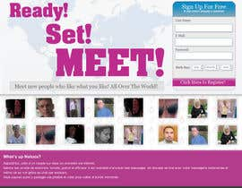 #5 for Graphic Design for a dating website homepage by cloudsoffire