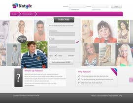 #7 untuk Graphic Design for a dating website homepage oleh jasminkamitrovic