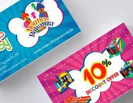 sami24x7 tarafından Design some Business Cards for Bounce Bonanza için no 33
