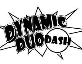 #45 untuk Design a Logo for Dynamic Duo Dash oleh brissiaboyd