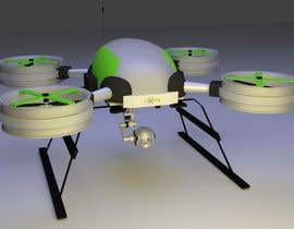 #23 for Do some 3D Modelling for Recreational Drone Prototype af bajakdarart