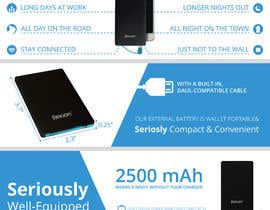 #6 para I need an infographic for a Portable Battery por program23