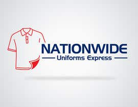 #75 para Design a Logo for Nationwide Uniforms Express por designblast001