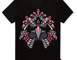 #17 for Design an Animal for a Black T-Shirt af mohinimenon