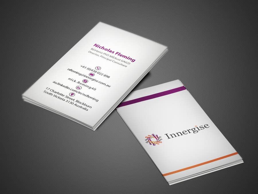 Entry 244 by imtiazmahmud80 for design business cards for innergise contest entry 244 for design business cards for innergise reheart Choice Image