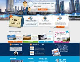 #84 for Build a Website for dubaivisas.co.uk by marwamagdy