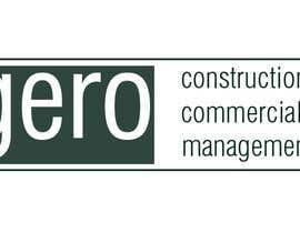 Nro 26 kilpailuun Design a Logo for Gero Construction Commercial Management käyttäjältä Dckhan