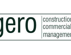 Nro 27 kilpailuun Design a Logo for Gero Construction Commercial Management käyttäjältä Dckhan
