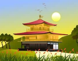 #23 para Illustrate Something for Golden Pavillion Temple (Japan) por ganeshbhoopathy5