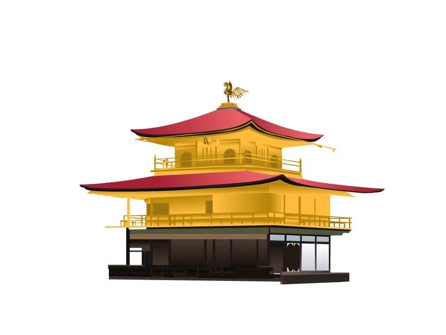 Konkurrenceindlæg #26 for Illustrate Something for Golden Pavillion Temple (Japan)