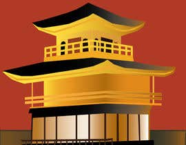 #3 for Illustrate Something for Golden Pavillion Temple (Japan) by EVaZoloto
