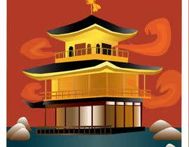 #14 for Illustrate Something for Golden Pavillion Temple (Japan) by EVaZoloto