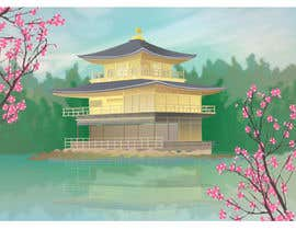 #18 para Illustrate Something for Golden Pavillion Temple (Japan) por psichikula