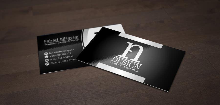 Inscrição nº 42 do Concurso para Develop a Corporate Identity for an interior design firm