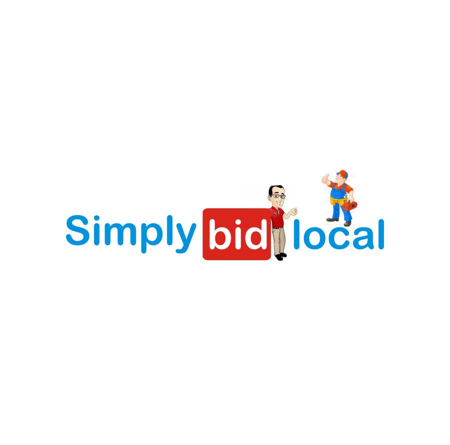 Contest Entry #74 for Design a Logo for bid website: SimplyBidLocal.com    (Be part of a new start up)