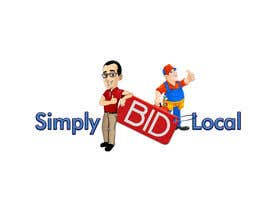 #69 untuk Design a Logo for bid website: SimplyBidLocal.com    (Be part of a new start up) oleh Herry1an