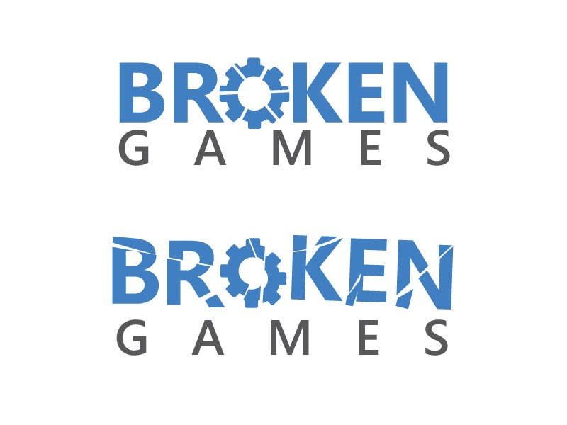 Inscrição nº 109 do Concurso para Design a Logo for Broken Games