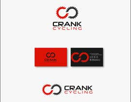 #55 untuk Design a Logo for Crank Cycling YouTube Channel oleh brokenheart5567