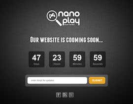 #16 untuk Build a pre-launch website for nanoplay.eu oleh Natch