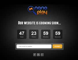 #18 untuk Build a pre-launch website for nanoplay.eu oleh Natch