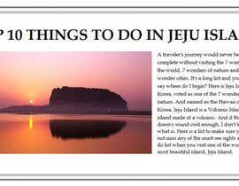 #12 for Travel Writing: Top Ten Things to Do on Jeju Island by Mythzy