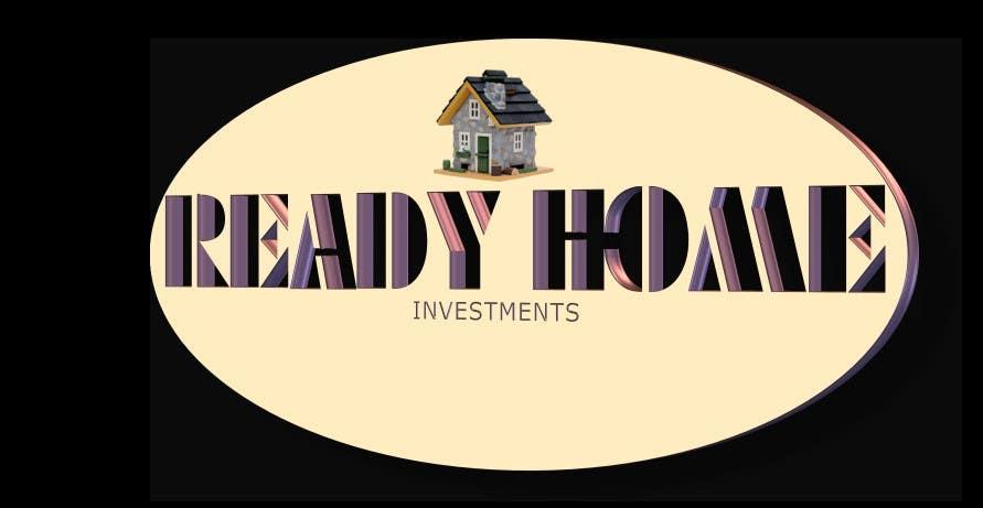 Inscrição nº 87 do Concurso para Design a Logo for Ready Home Investments