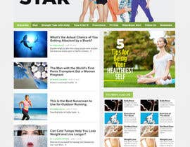 martinaobertova tarafından Design a Website Mockup for Anti-Aging Site için no 31