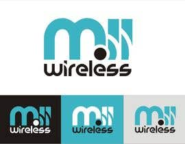#36 untuk Design a Logo for a wireless project oleh YONWORKS