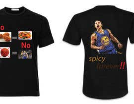 #4 untuk Stephen Curry NBA/Spice for making food creative design oleh hussainanima