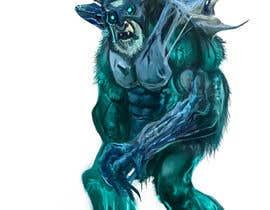krisztianhallai tarafından Create a Yeti Monster wearing Ice Armor için no 2
