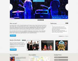 nº 6 pour Design a Website for Music Band introduction site par iNoesis