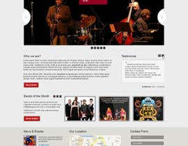 iNoesis tarafından Design a Website for Music Band introduction site için no 15