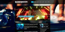Design a Website for Music Band introduction site için Graphic Design8 No.lu Yarışma Girdisi