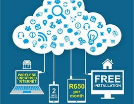 creazinedesign tarafından Design an Advertisement for Wireless Internet 2 için no 50