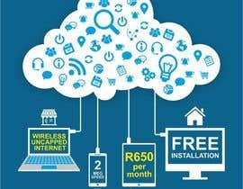 Nro 50 kilpailuun Design an Advertisement for Wireless Internet 2 käyttäjältä creazinedesign