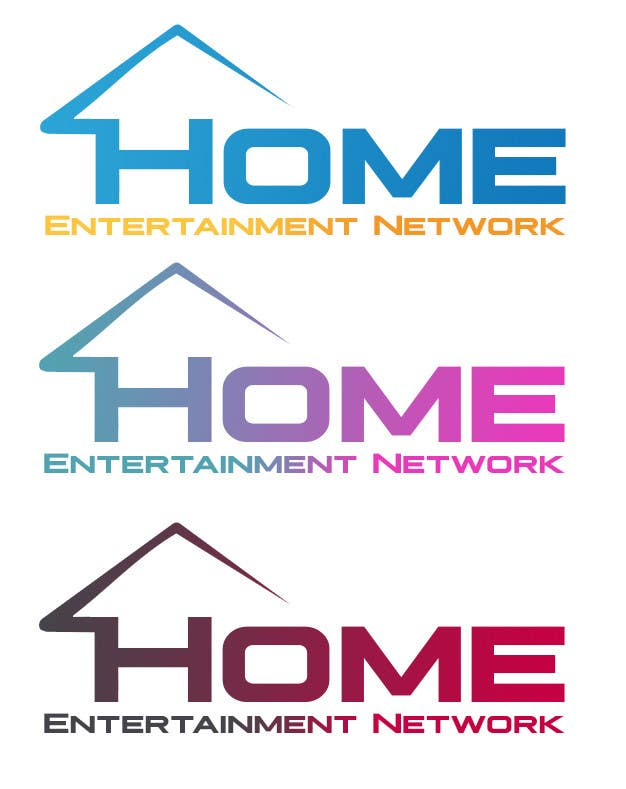 Entry #12 by AshoxDz for Home Entertainment Network Logo Design ...