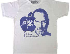 #72 para T-shirt Design for IndoPotLuck - Steve Jobs Tribute por raamsankar