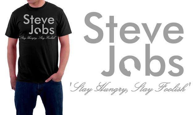 Penyertaan Peraduan #                                        60                                      untuk                                         T-shirt Design for IndoPotLuck - Steve Jobs Tribute
