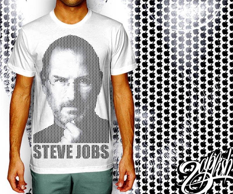 Penyertaan Peraduan #                                        22                                      untuk                                         T-shirt Design for IndoPotLuck - Steve Jobs Tribute
