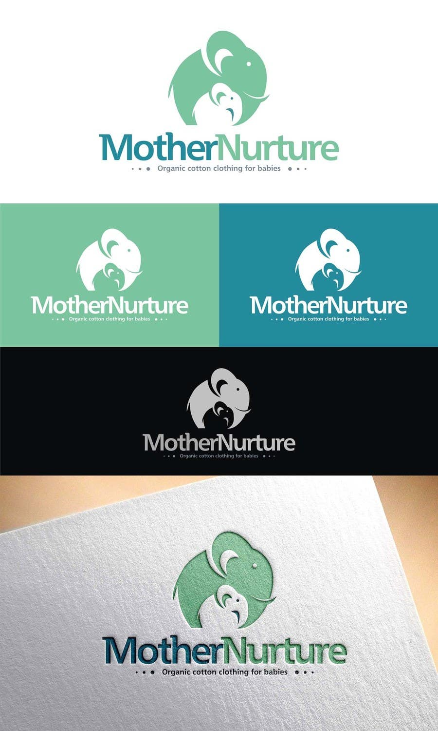 Entry 42 By Amandeepsngh042 For Design A Logo For Organic Baby