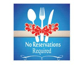 "#11 untuk Design a Logo for ""No Reservations Required"" oleh shahinacreative"