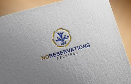 "#31 untuk Design a Logo for ""No Reservations Required"" oleh chtanveeritp"