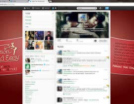 #1 untuk Design a Twitter background for Company oleh dnck