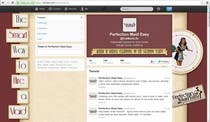 Entry # 11 for Design a Twitter background for Company by