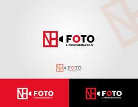 "#10 untuk Ontwerp een Logo and colorboard for ""Foto & Filmstudiohuren.nl"" oleh shkabdulwahab"