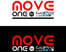 #5 for Projetar um Logo - MOVE ONE For GoPro. Be a HERO. by MadaSociety